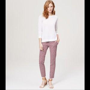 Ann Taylor Loft Marisa Skinny Pants Size 4